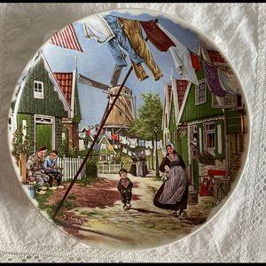 Rare vintage Royal Schwabap plate